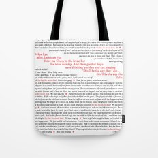 American Pie (all of it) Tote Bag