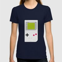 #54 Gameboy Womens Fitted Tee Navy SMALL