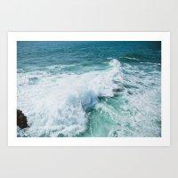 The Wave. Art Print