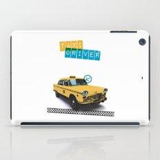 Taxi driver iPad Case