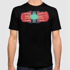 Here, have a donut.  SMALL Black Mens Fitted Tee