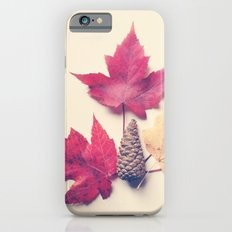 Red Maple Leaf Collection Slim Case iPhone 6s