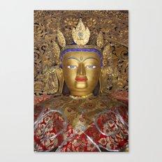 The Maitreya Buddha Canvas Print