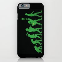 iPhone Cases featuring Missing Link by Jonah Block