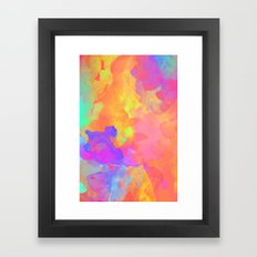 Just Paint Framed Art Print