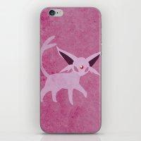 Espeon iPhone & iPod Skin