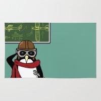 Little Penguin, Big Plans Rug