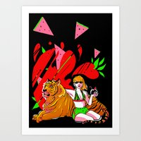 One of the Pack Art Print