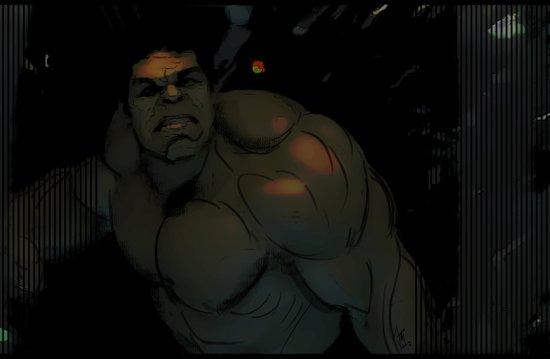 Hulk! Rage Canvas Print