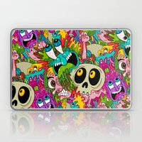 Puke Pattern Laptop & iPad Skin