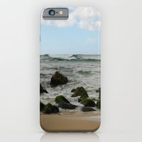 iPhone & iPod Case featuring Oahu: Some Rocks by ParadiseApparel
