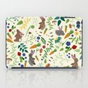 Rabbits In The Garden iPad Case