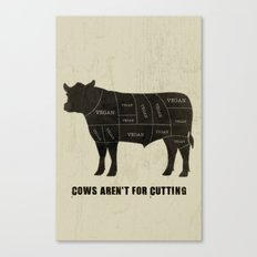 Vegan Cuts Canvas Print