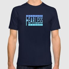 Fearless Mens Fitted Tee Navy SMALL
