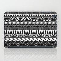 Tribal Monochrome. iPad Case
