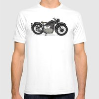 1937 Mens Fitted Tee White SMALL