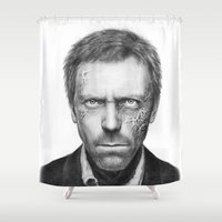 House MD Shower Curtain