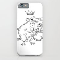 iPhone & iPod Case featuring Rat King by heymonster
