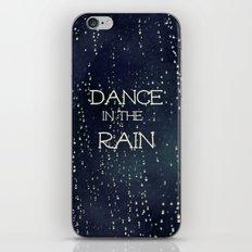 Dance in the Rain iPhone & iPod Skin