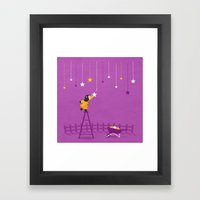 Hang You From The Heaven… Framed Art Print