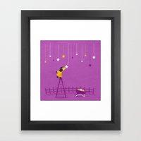 Hang You From The Heavens Framed Art Print