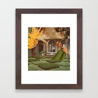 Knit Framed Art Print