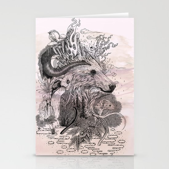 Forest Warden Stationery Card