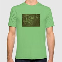 Round 9..lenox Lewis Mens Fitted Tee Grass SMALL