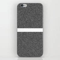 Noise Interrupted iPhone & iPod Skin