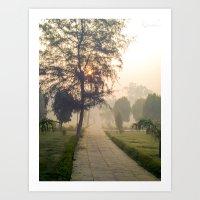 Pathway Art Print