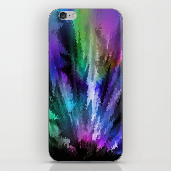 Rainbow colors. iPhone & iPod Skin