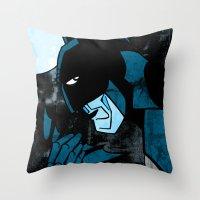 Dark Nighty Throw Pillow