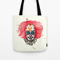 Sugar Skull Clown IT Tote Bag