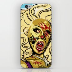 Zombie RuPaul iPhone & iPod Skin