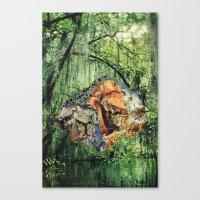 mirage hall Canvas Print