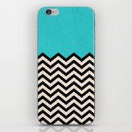 Follow The Sky iPhone & iPod Skin