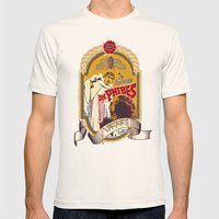 Dr. Phibes Locust Lager Mens Fitted Tee Natural SMALL
