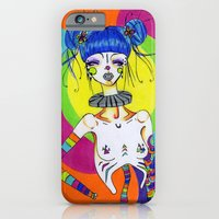 iPhone & iPod Case featuring Clown by Sirius