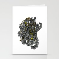 Jailed Fern Stationery Cards