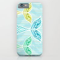 Mermaids and Stripes iPhone 6 Slim Case