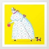 Big Girl Art Print