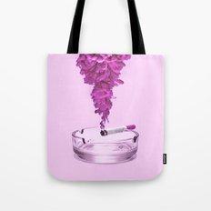 Pink Smoke Tote Bag