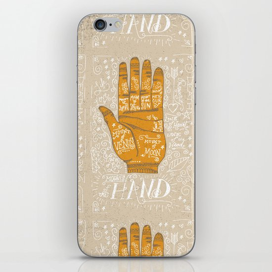 THE PALM READER iPhone & iPod Skin