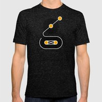 G Like G Mens Fitted Tee Tri-Black SMALL