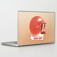 mario Laptop & iPad Skins featuring Mario Kart by Chase Kunz