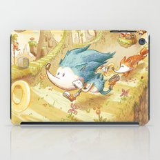 Starring Sonic and Miles 'Tails' Prower (Yellow Version) iPad Case