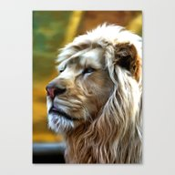 Canvas Print featuring Lion2 by Regan's World