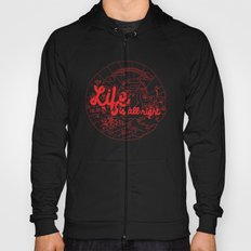 Life is All Right (RED) Hoody
