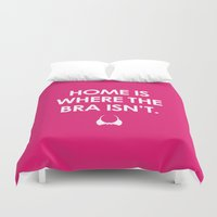 Home is Duvet Cover