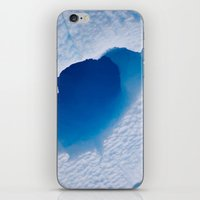 Blue Tunnel iPhone & iPod Skin